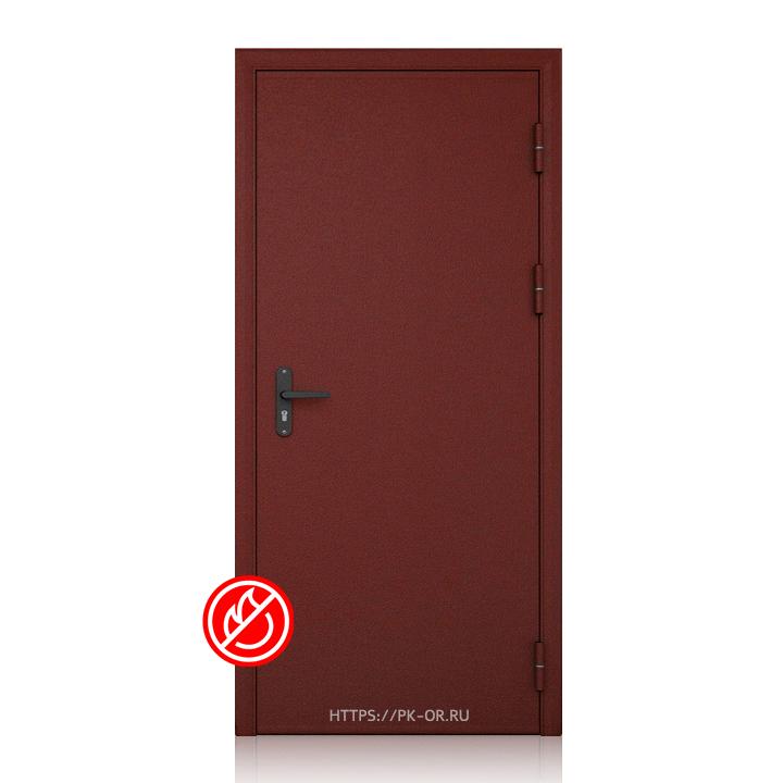 Противопожарная одностворчатая дверь EIS от производителя ПК Огневой Рубеж